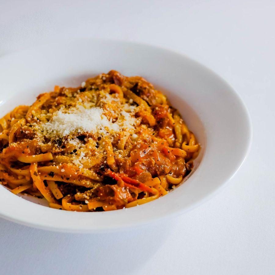 Photo One pot pasta aux courges