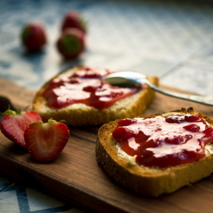 Photo Oeufs Brouillés aux fruits