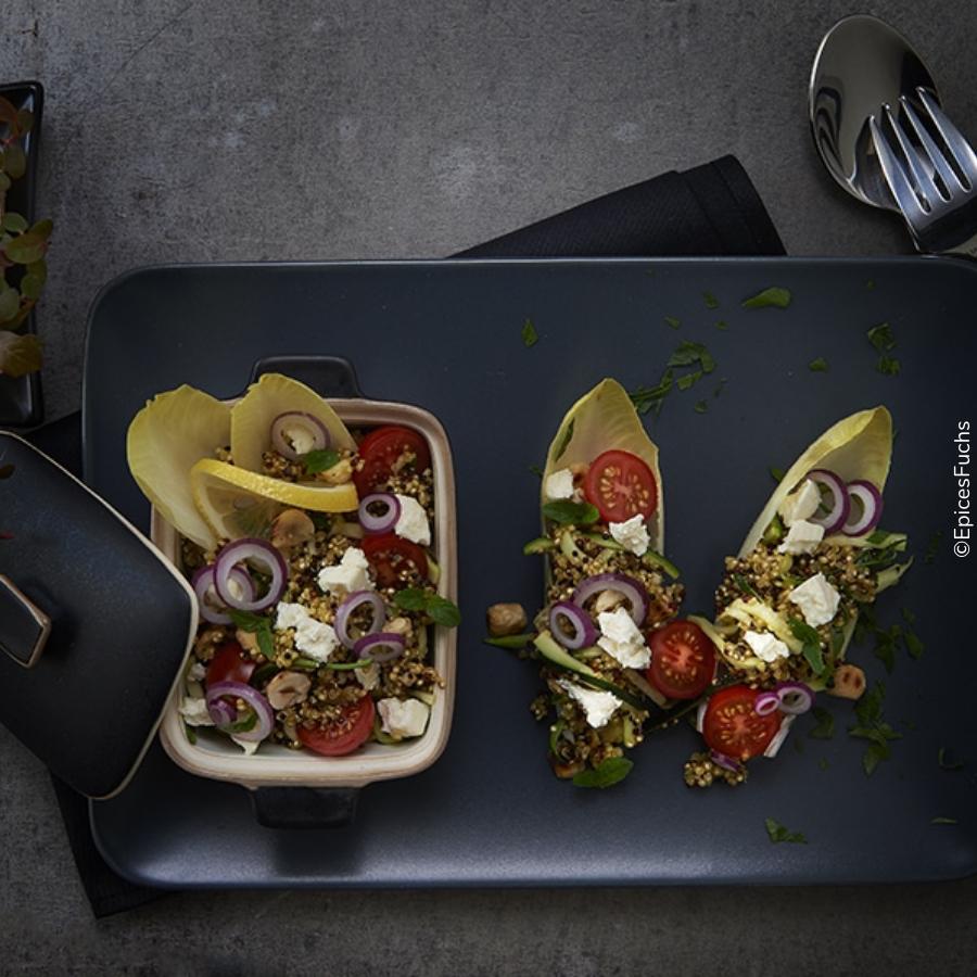 Photo Salade de quinoa à la feta et cumin