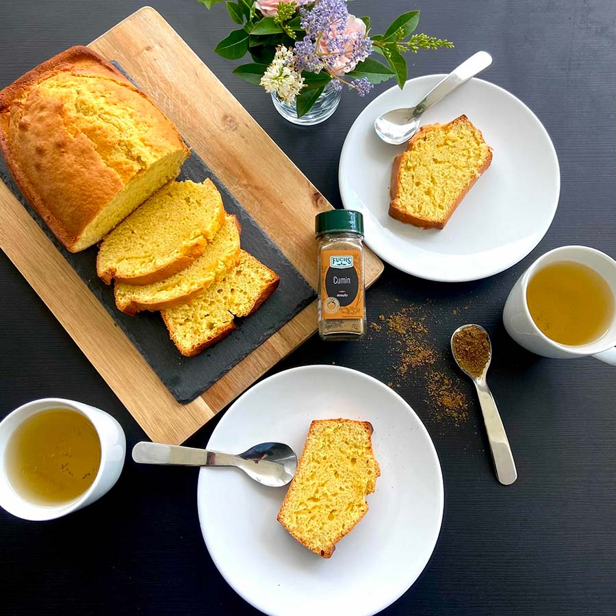 Photo Cake sucré au cumin de Fuchs